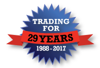 Trading for 27 years badge