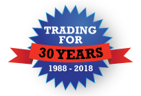 Trading for 30 years badge
